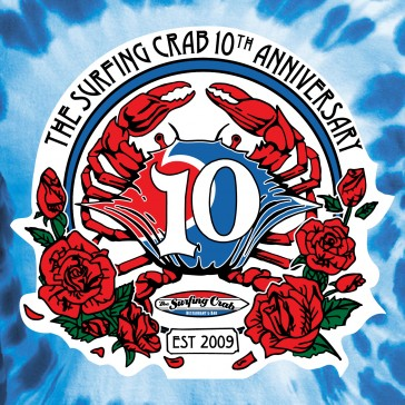 Surfin Crab 10th